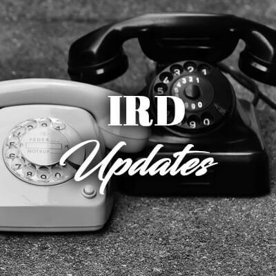 IRD Updates